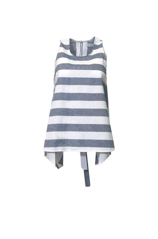 Juno Striped Top -