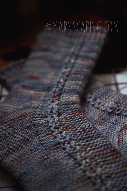 """Tuku Honey Socks by Andrea Mowry in Marie Cutie """"Ghoul Haunted Woodlands of Weir"""" by Once Upon A Corgi"""