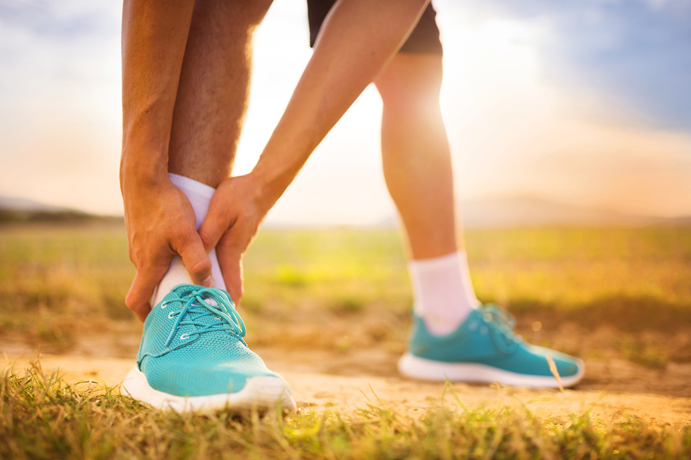 ankle injury treatment in temple hills and clinton maryland dr. burton katzen