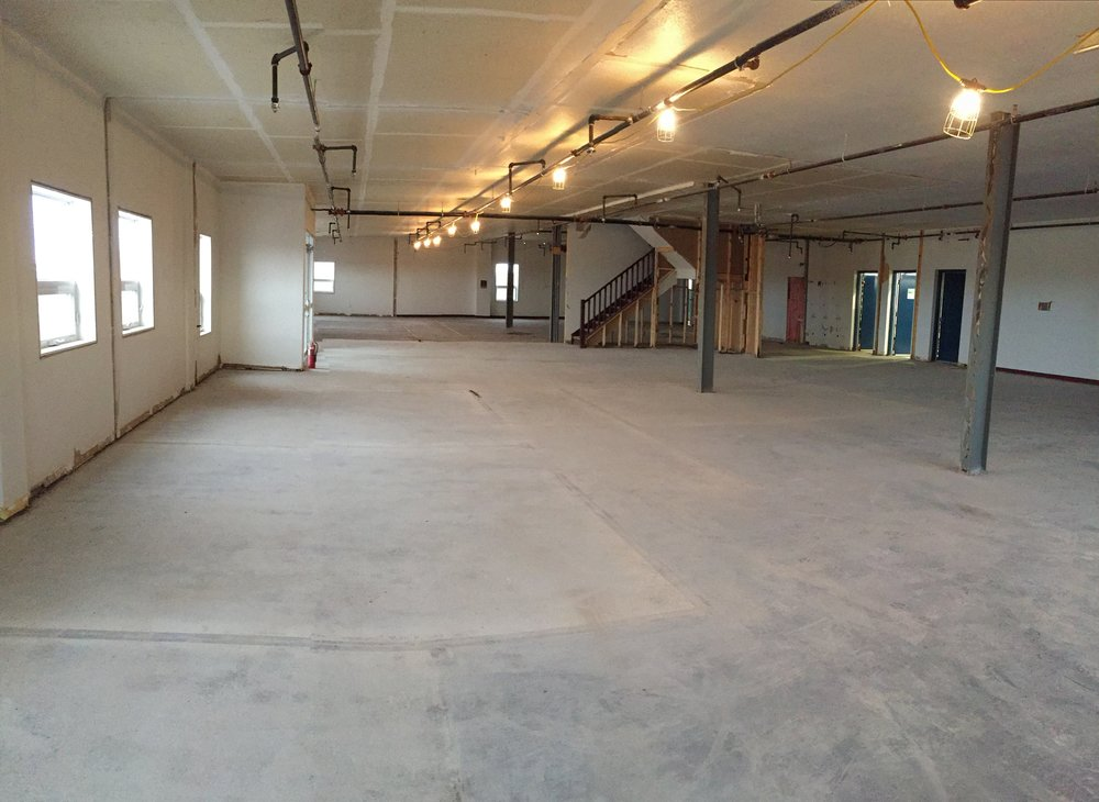 First floor entrance and office area