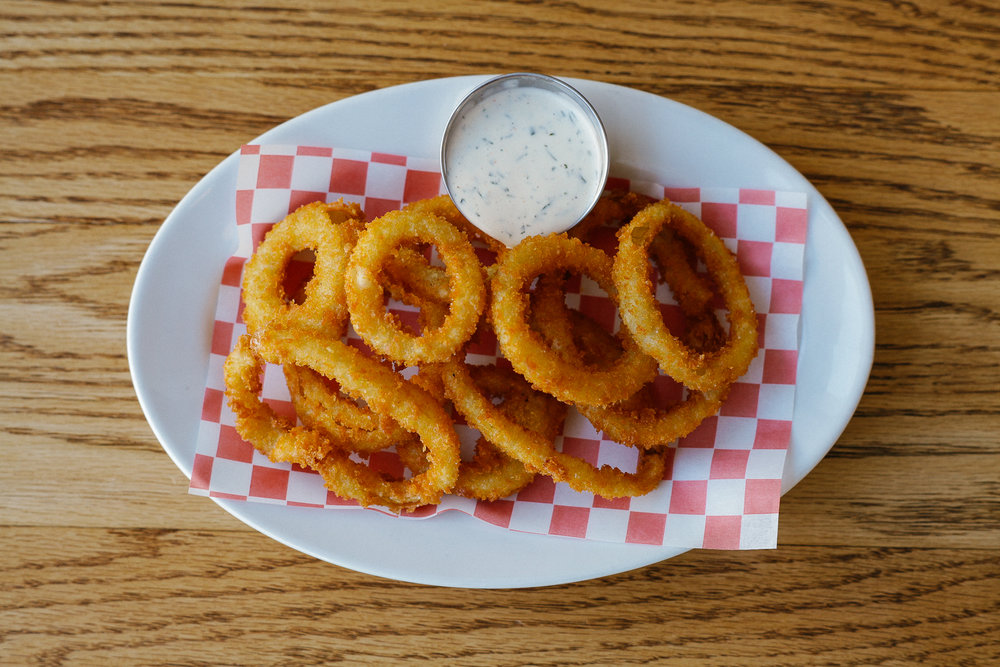 Onion Rings w/ House Ranch
