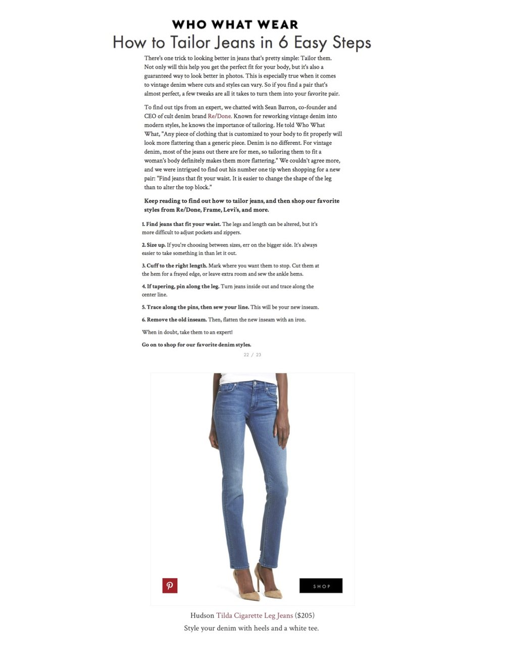 Who What Wear - How To Tailor Jeans - Hudson.jpg