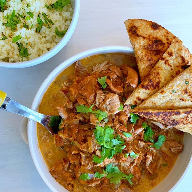 Instant pot chicken tikka masala ✨ So easy and flavorful, and mild enough for kids to enjoy. We love it with cauli rice, my kids love it with brown rice or whole grain naan. It's also great to make ahead for the week, and pack in school lunches! Whole 30 compliant, Keto, paleo, dairy/gluten free and done in under 30 minutes 🤗 Link for the recipe is in my bio or at www.katehinman.com/blog 🍽 . . . . . #whole30 #keto #chickentikkamasala #instantpotrecipes #healthyindianfood #glutenfree #grainfree #dairyfree #feedfeed #lowcarb #theeverygirlcooks #imsomartha #paleomom #healthykids #healthykidsfood #foodblogger #tastingtable #saveurmag #healthyliving #thekitchn #eeeeeats #iinhealthcoach #nutritionist #holistichealth
