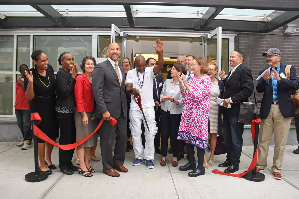 HOUSING - We consider safe, affordable, long-term housing the foundation of any process of recovery, and we back up this belief with action. In 2018:124 units of supportive/affordable housing created115 under construction, 300 in development