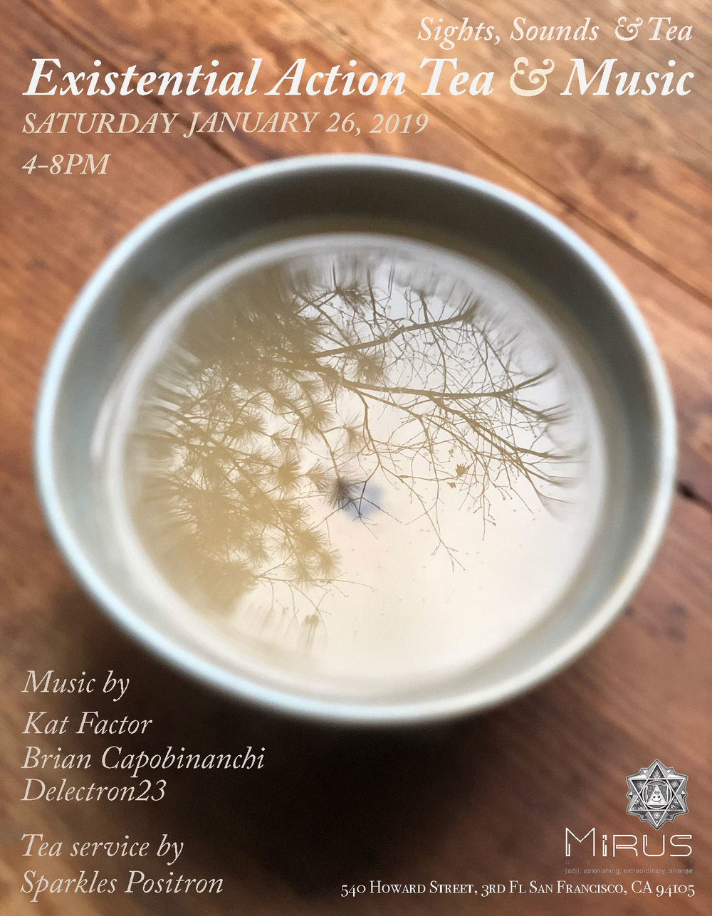 Existential Action Tea & Music -