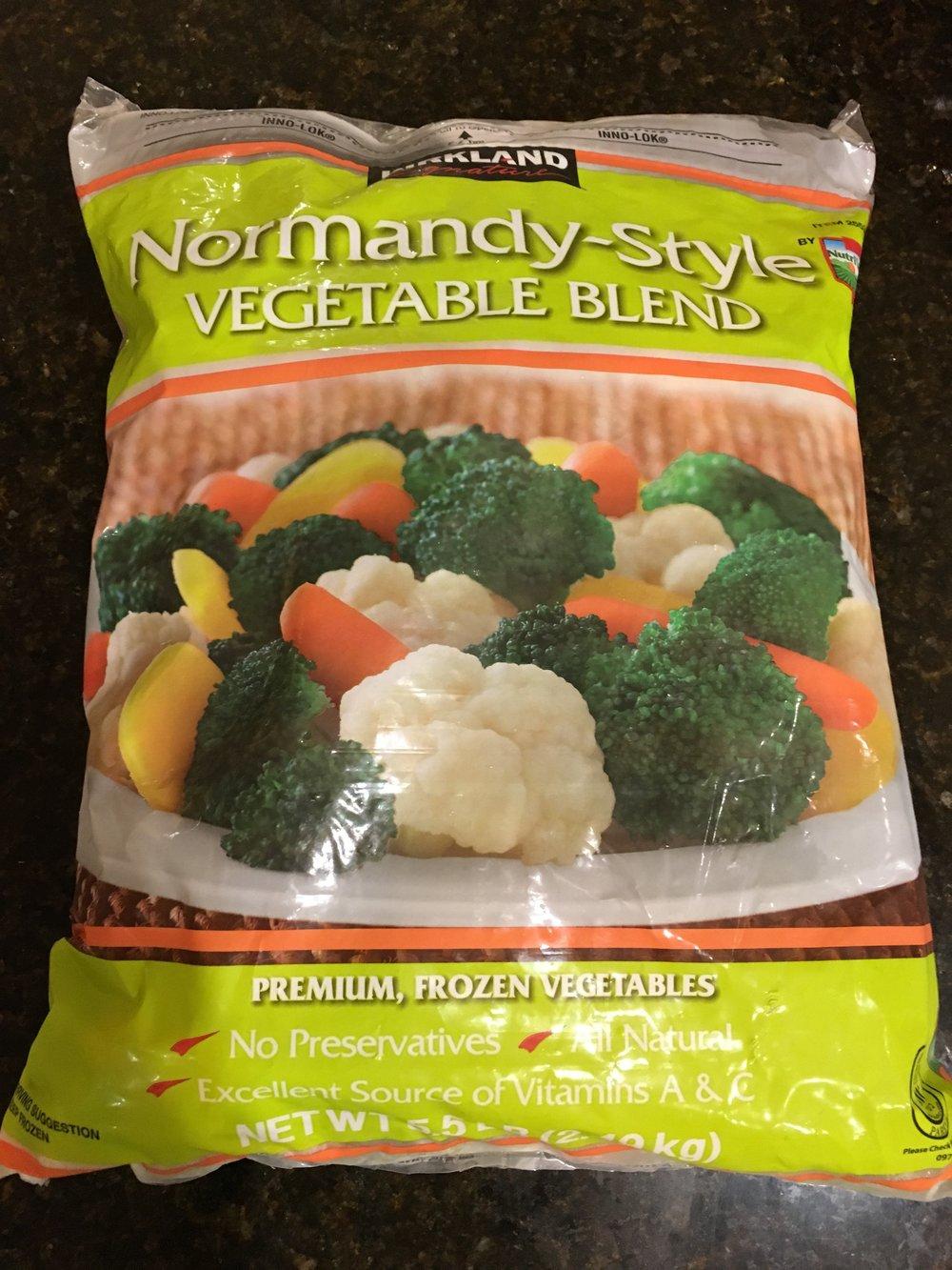 3. Frozen Vegetable (5 lbs)