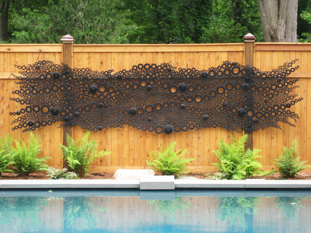 "Pool Lace Sculpture  16Ft. Long x 5 ft. H x 3"" Deep"