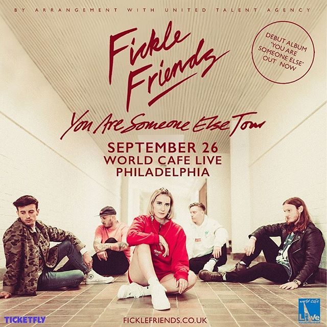 we are opening for @ficklefriends at world cafe live on September 26th for our final show. thank you to everyone who has ever supported us along the way, we hope to see everybody there for one last hoorah 💃🏻 ticket link in bio