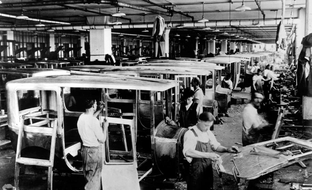 the automobile industry - DETROIT, MI