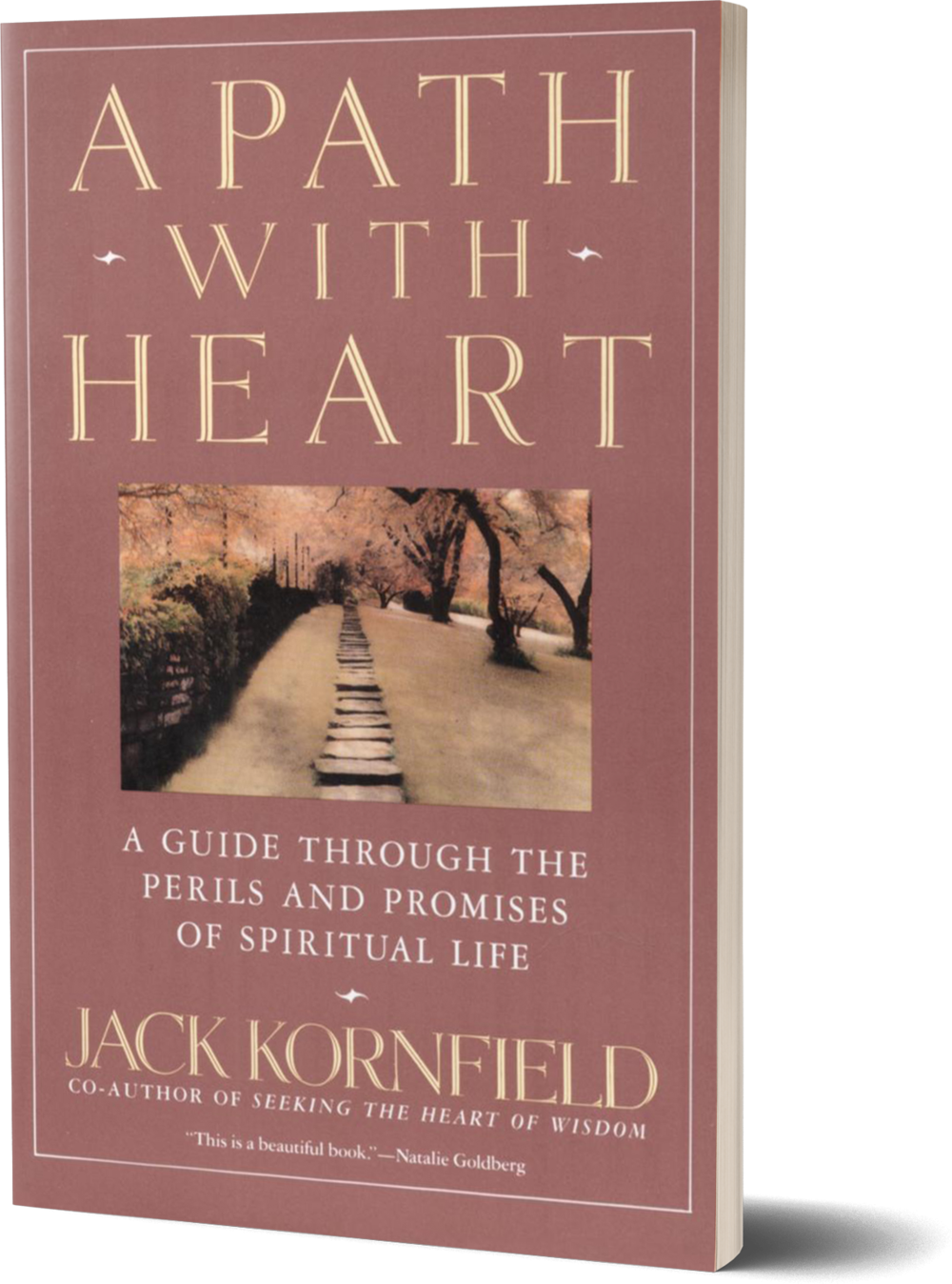 A Path with Heart- A Guide Through the Perils and Promises of Spiritual Life by Jack Kornfield.png