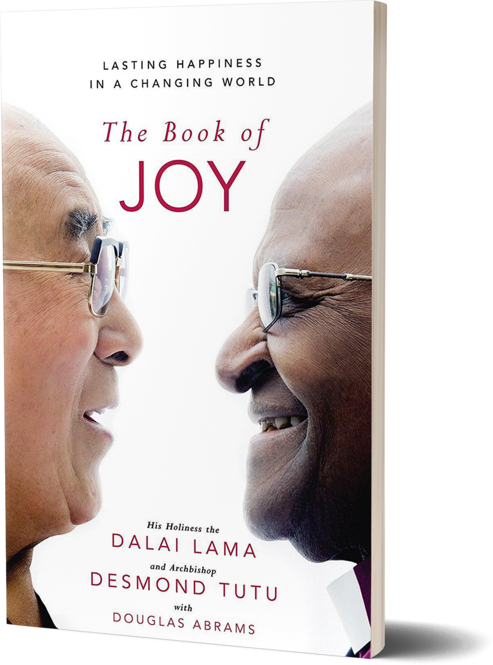 The Book of Joy- Lasting Happiness in a Changing World by Dalai Lama and Desmond Tutu.png