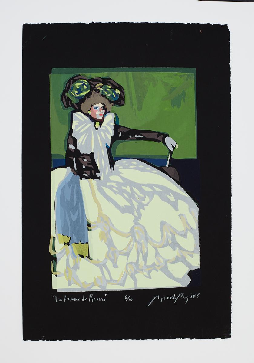 """""""Femme de Picasso"""" 2015"""