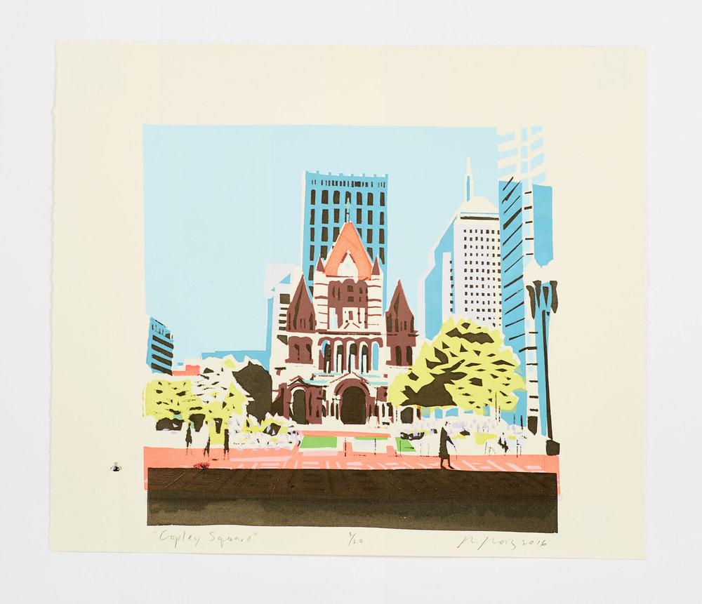 """""""Copley Square"""" 2016"""