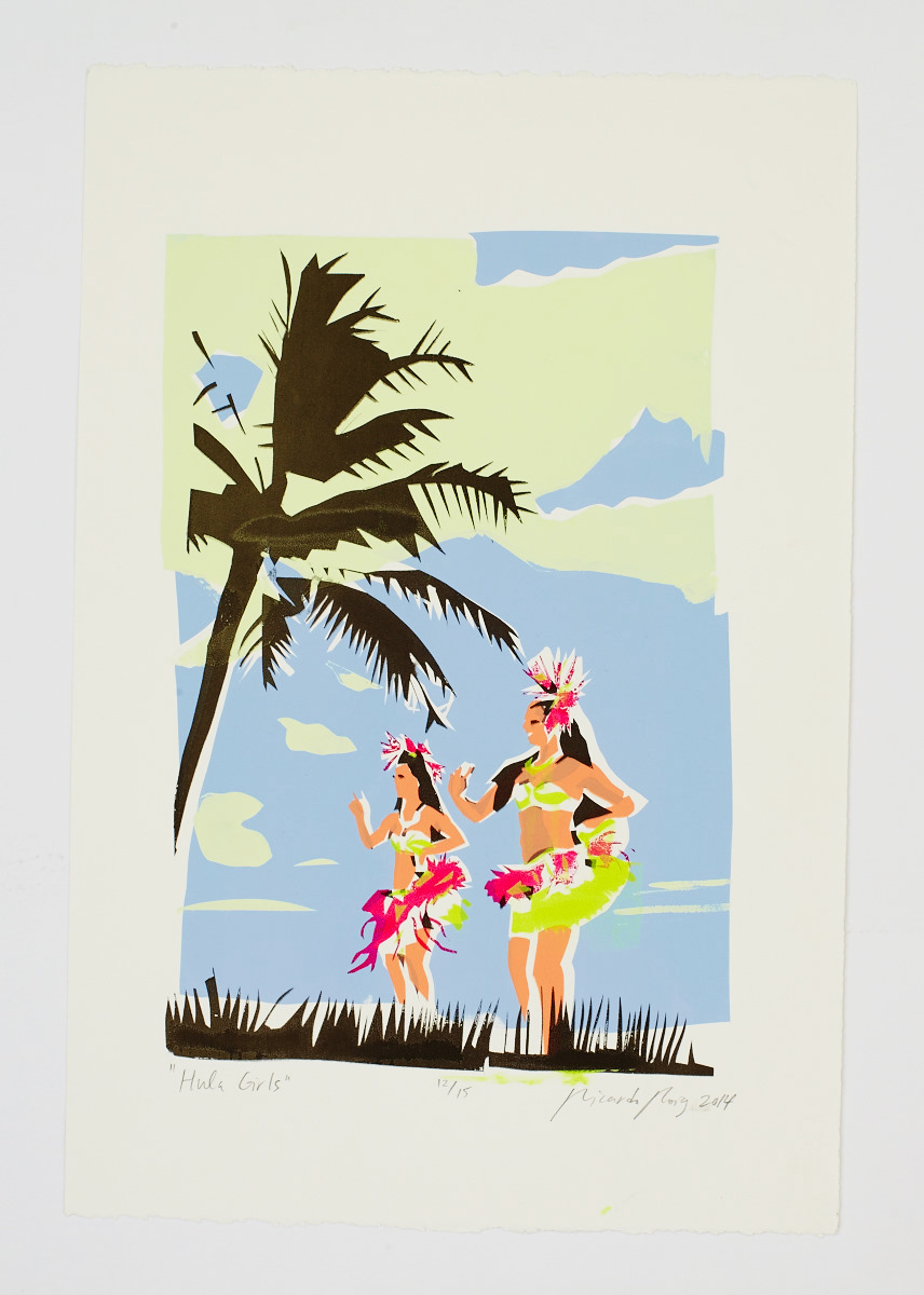 """Hula Girls"" 2014"