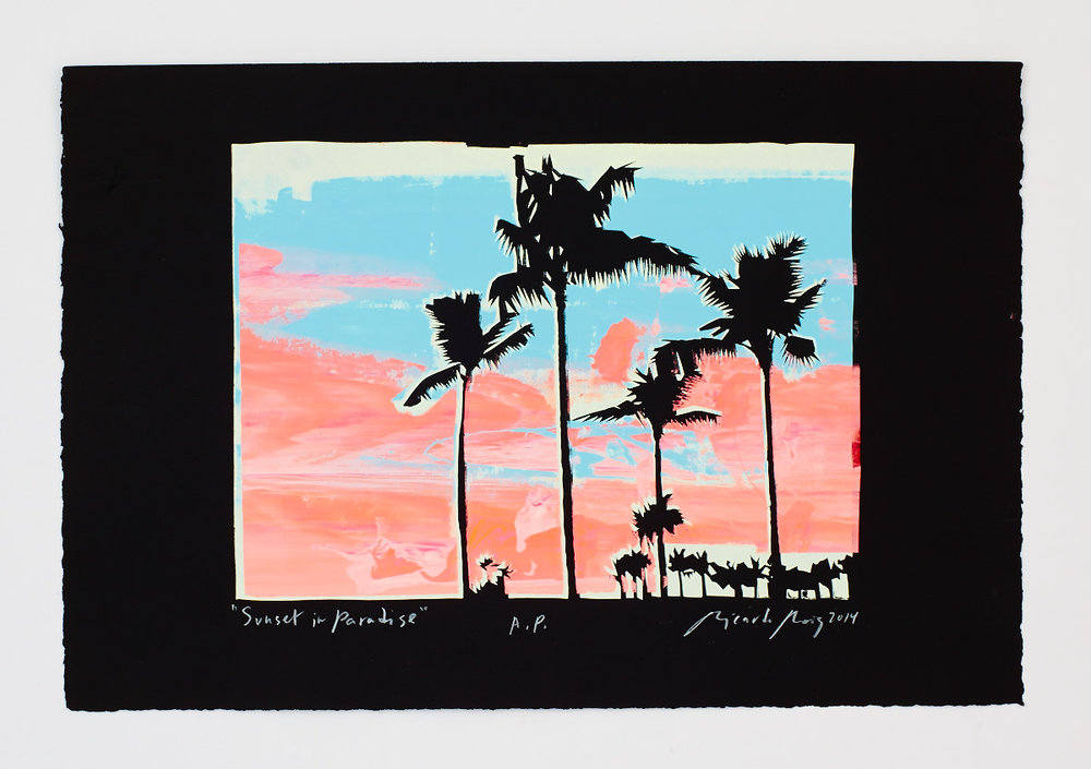 """""""Sunset in Paradise"""" 2014"""