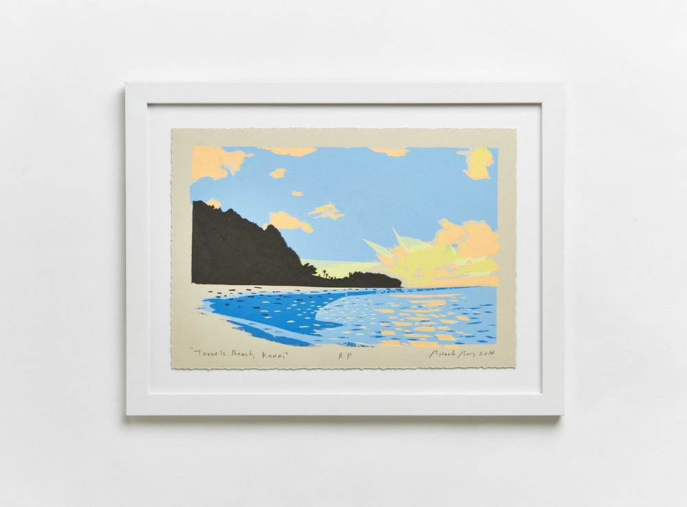 """""""Tunnel's Beach, Kauai"""" 2014"""