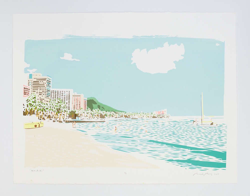 """""""Waikiki"""" 2015"""