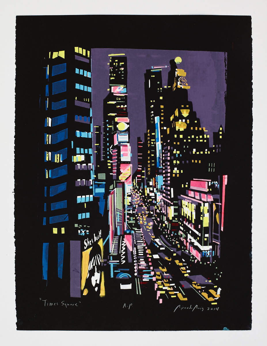 """Times Square II"" 2015"