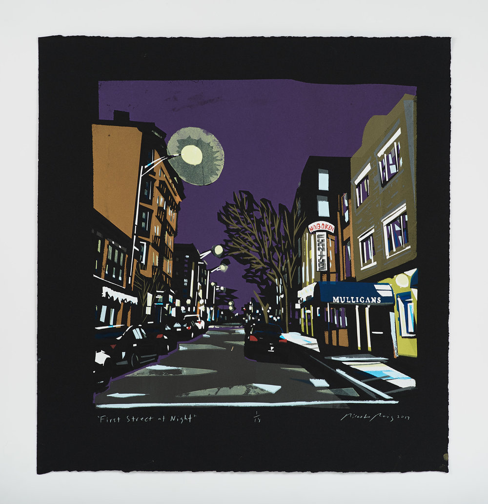 """First Street at Night"""