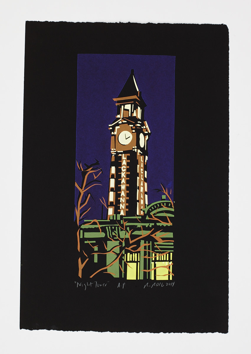 """Night Tower"" 2015"