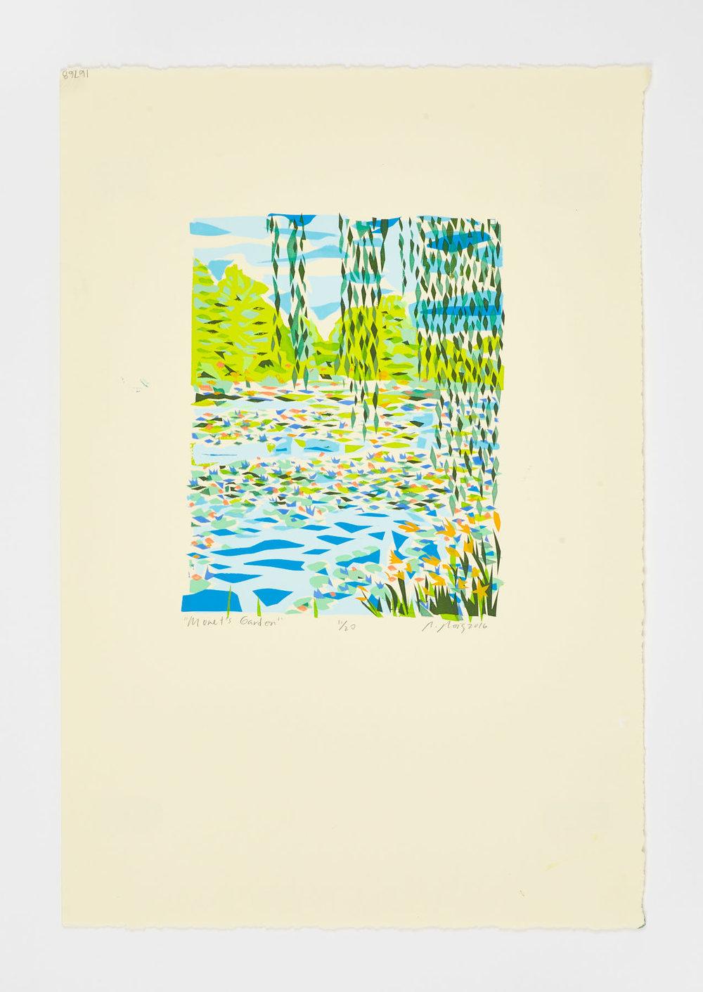"""Monet's Garden"" 2016"