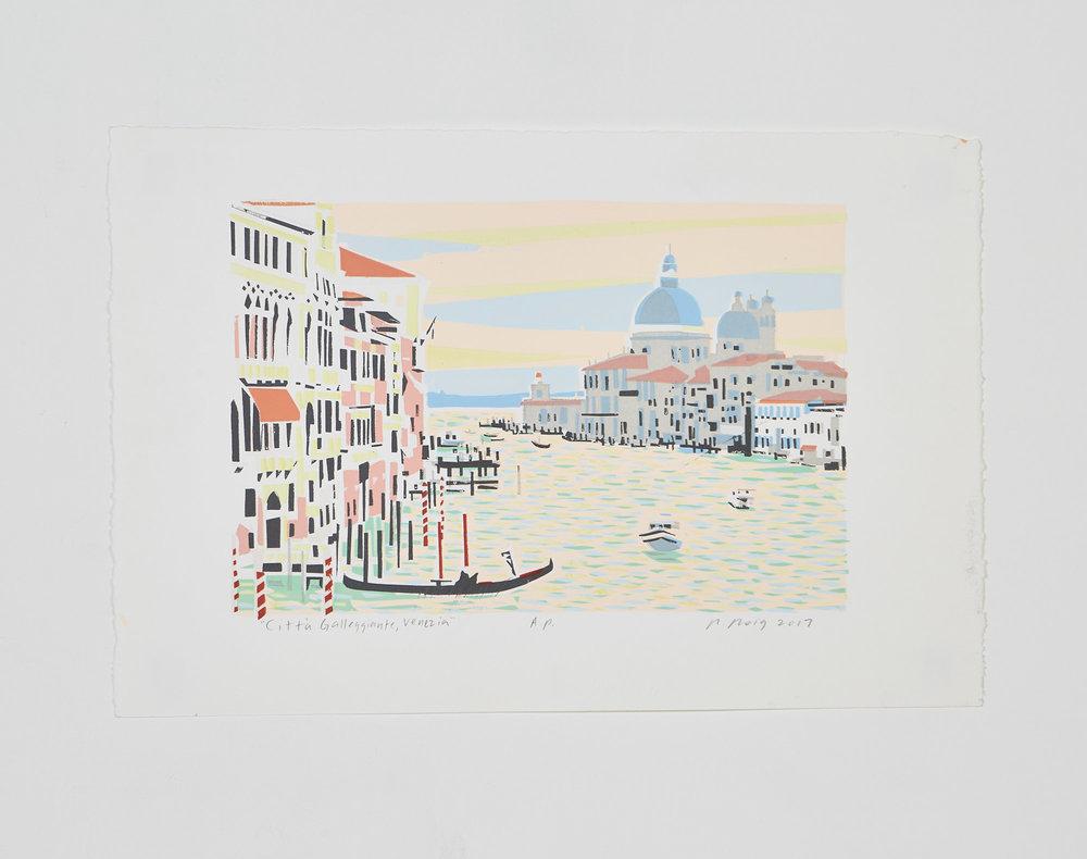 """""""La Citta Galleggiante, Venezia"""" 2017"""