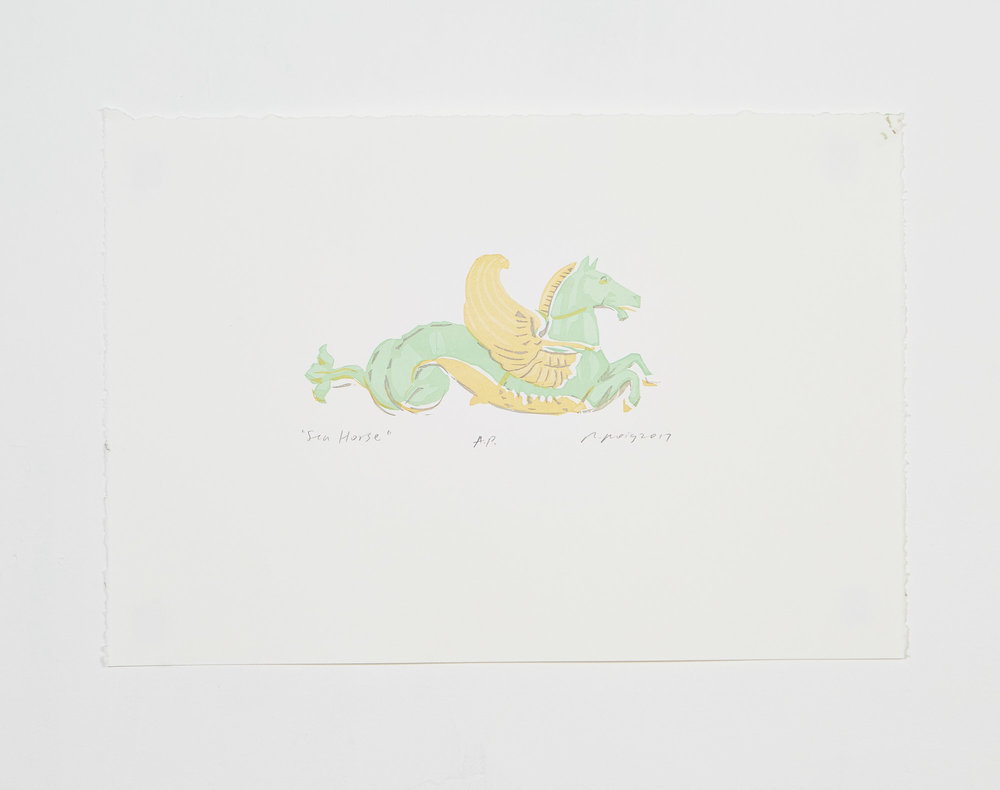 """""""Sea Horse I"""" 2017"""