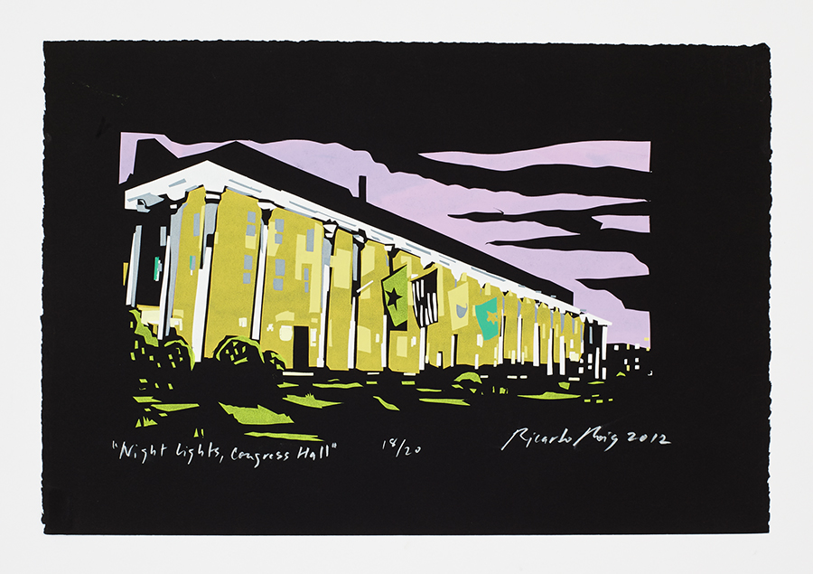 """Night Lights, Congress Hall"" 2012"