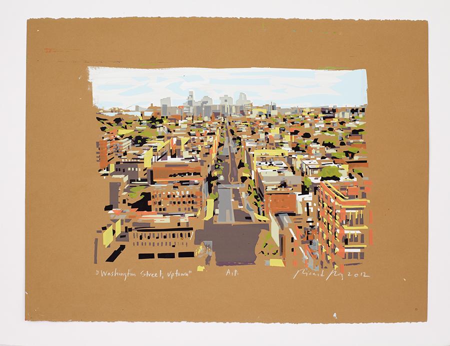 """Washington Square, Uptown"" 2012"
