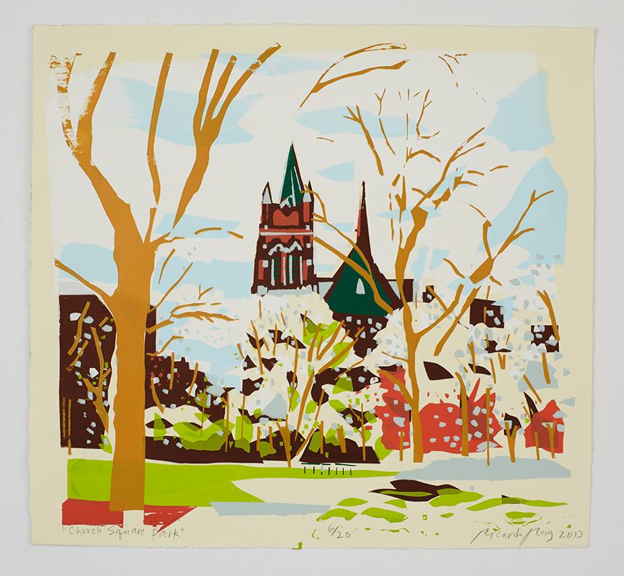 """Church Square Park"" 2013"
