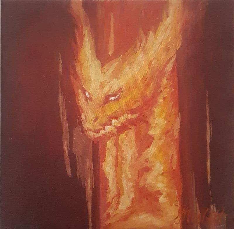 THE DRAKE'S DESPIRE- The Fire Drake.jpg