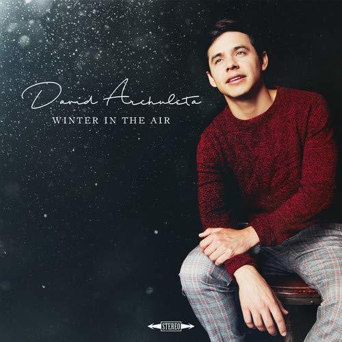 Album cover of Winter in the Air by David Archuleta