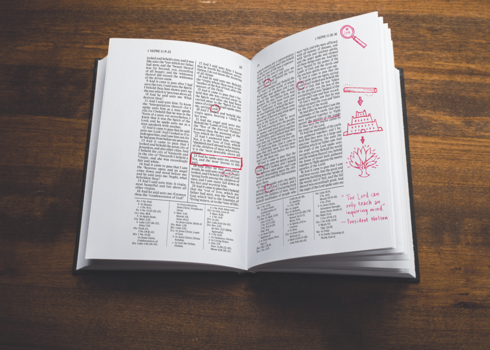 Book of Mormon Journal - Gray