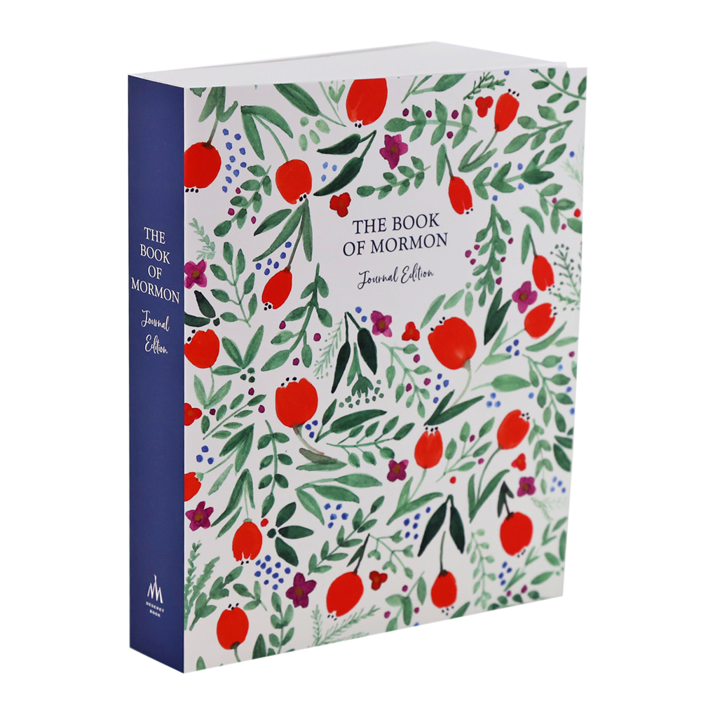 Book of Mormon Journal - Red Floral