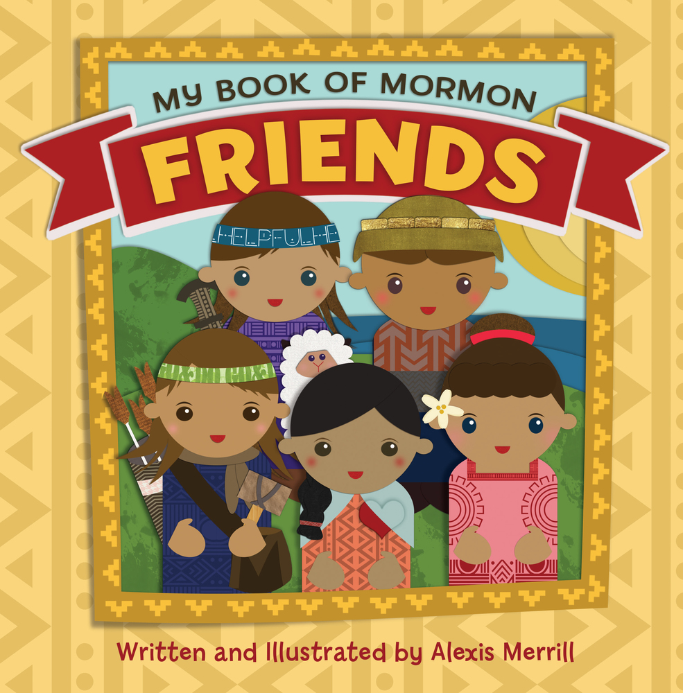 My Book of Mormon Friends Cover