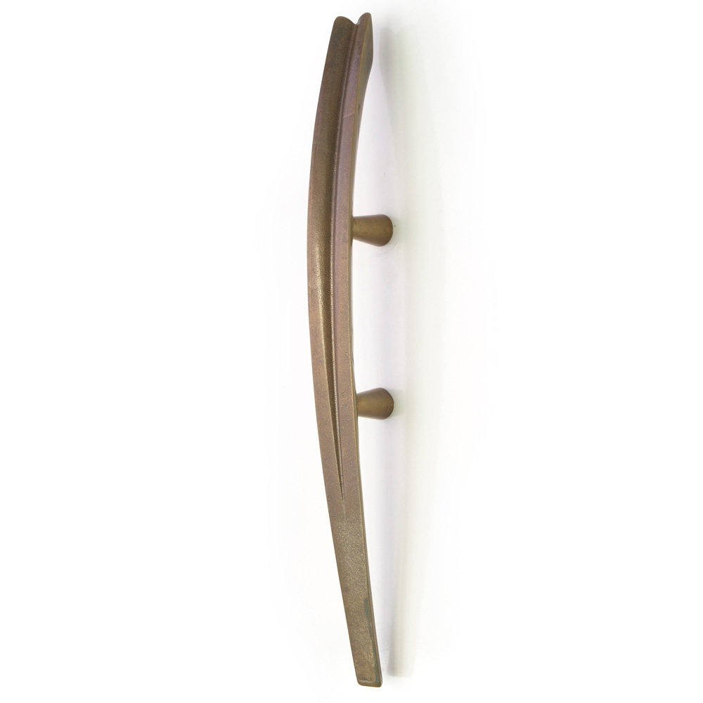 bronze pull handle made in New Zealand