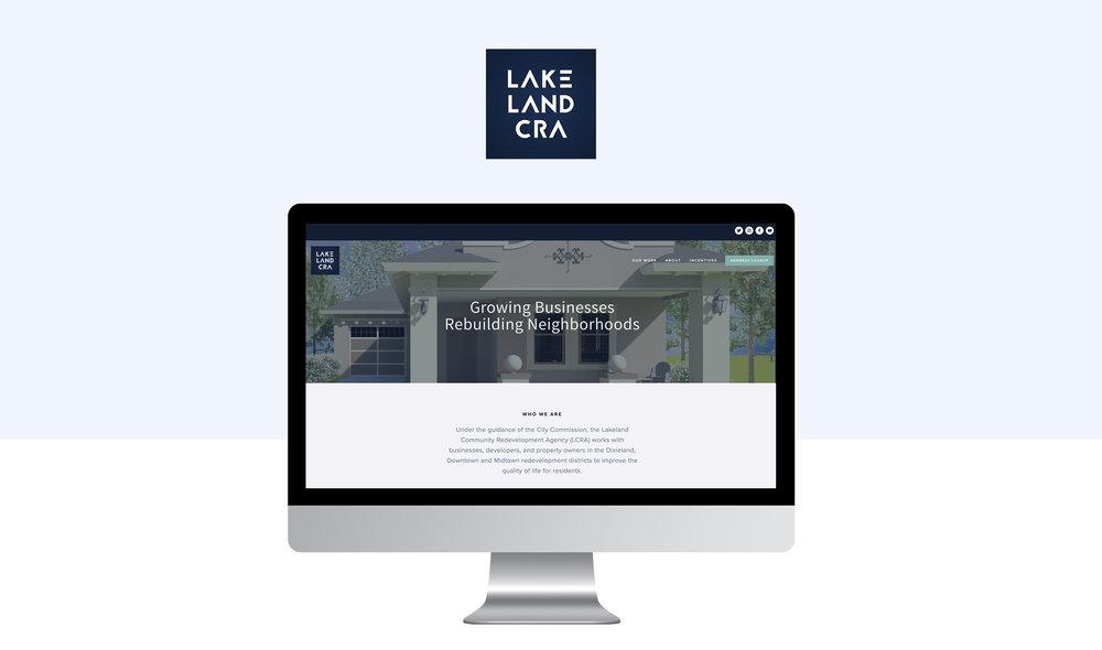 LCRA Website Mockup