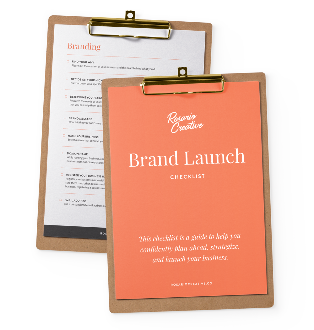 Brand Launch Checklist Download Freebie