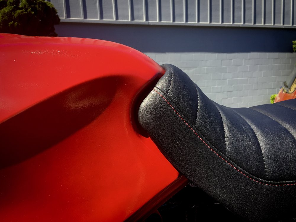 After Motorcycle Seat