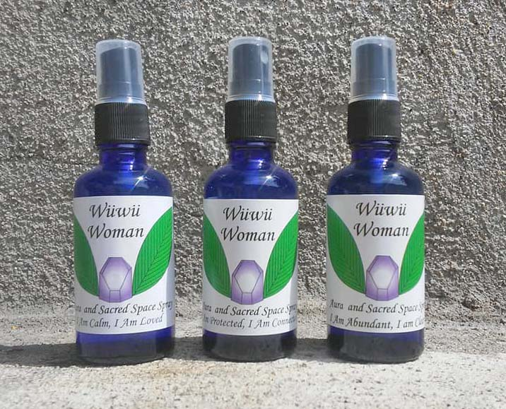 Aura and Sacred Space Sprays - I created three different formulas using my favorite essences and healing stones. They can be purchased separately, or as a set.https://www.etsy.com/listing/682406682/aura-spray-set-of-3-i-am-calm-i-am?ref=shop_home_active_1&frs=1