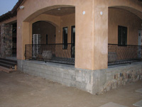Corner Rail View