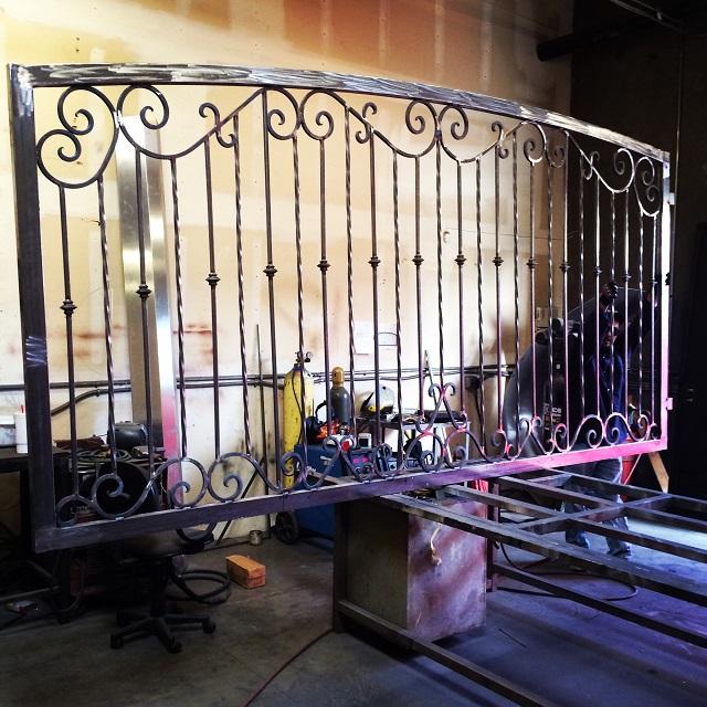 Driveway Gate Fabrication