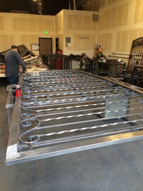 Driveway Gate Fabrication2