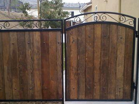 Fences - wrought iron