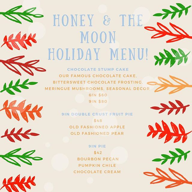 Happy Holidays from the bakers! All goodies made with Organic flour, sugar, eggs, milk & butter of course. Don't forget to email us to order your holiday pies! info@havethemoon.com 😌🎄🥧🧁 #havethemoon #mintandlibertydiner #sonoma #iheartsonoma #iheartsonomavalley #experiencesonomavalley #dessert #sonomamag #sonomastrong #local #cloversonoma #desserts #holidays #thefeedfeedbaking