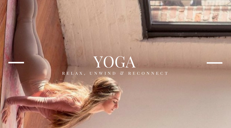 Connect & De-Stress - Need some downtime? Relax and de-stress with our yoga videos you can press play on anytime