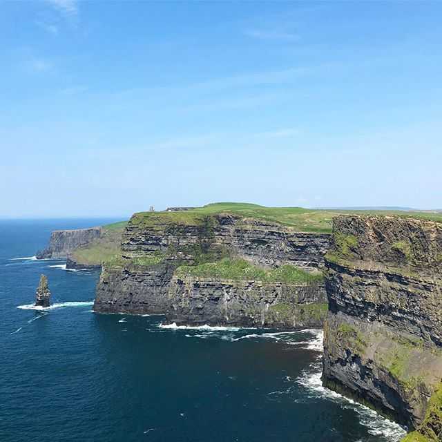 Photos (and words for that matter) will never do the Cliffs of Moher justice. Breath = literally taken away.