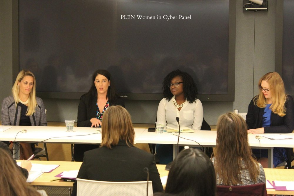 Public Leadership Education Network (PLEN)  Women in Cyber Law Panel