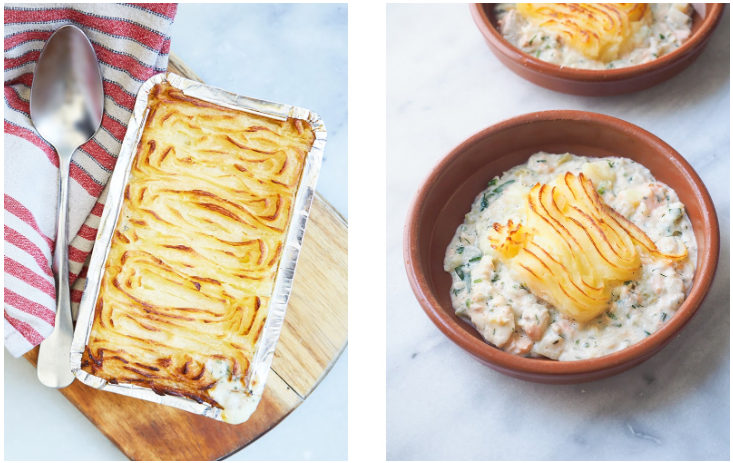 Eugene's Signature Fish Pie
