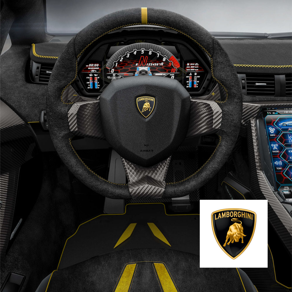 Lamborghini - Instrument Cluster Interface